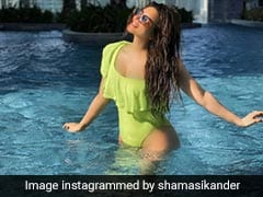 Shama Sikander's Summer Diaries Have A Special Spot For Neon Swimsuits