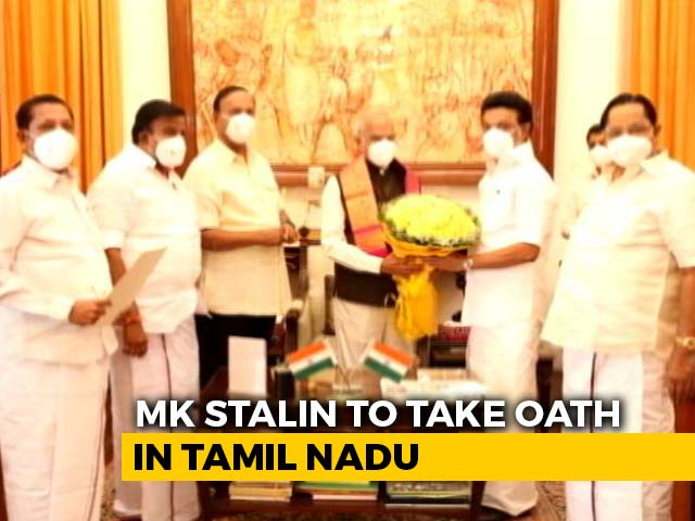 Video : MK Stalin Along With 33 Ministers To Take Oath In Tamil Nadu Today