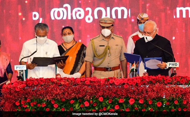 Pinarayi Vijayan Takes Oath As Chief Minister Of Kerala For The 2nd Time