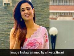 Shweta Tiwari's Gorgeous Floral <i>Saree</i> Is The Definition Of Elegant Summer Ethnic Style