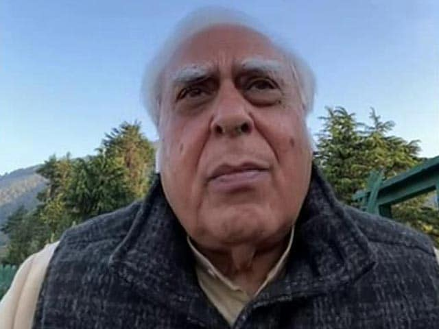 """Video : """"When Governments Don't Do Their Job, Courts Have To Step In"""": Kapil Sibal To NDTV"""