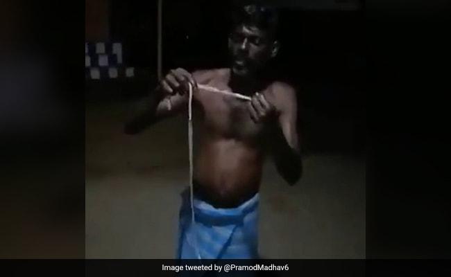 Tamil Nadu Man Arrested For Eating A Snake, Fined Rs 7,000