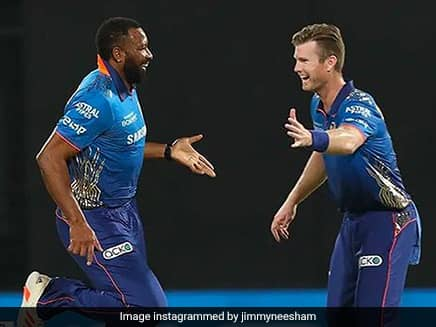 Mumbai Indians Jimmy Neesham Doubtful Of IPL, T20 World Cup Taking Place In India This Year