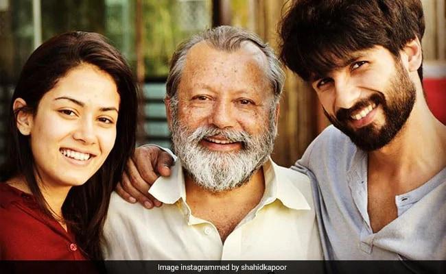 For Pankaj Kapur, Shandaar Birthday Wishes From Shahid Kapoor And Mira Rajput