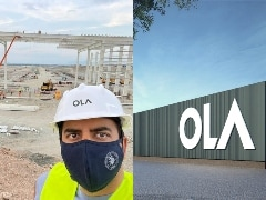 Ola Electric Future Factory Construction In Full Swing Ahead Of Launch This Year
