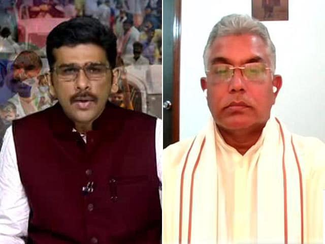 Video : Bengal Assembly Election Result Can Change Even At Last Minute: BJP's Dilip Ghosh