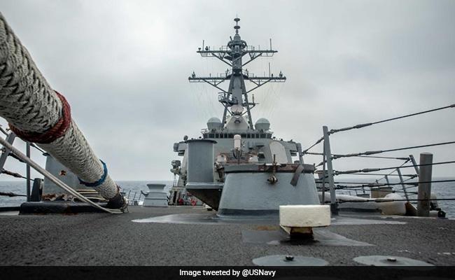 US Warship Again Sails Through Sensitive Taiwan Strait