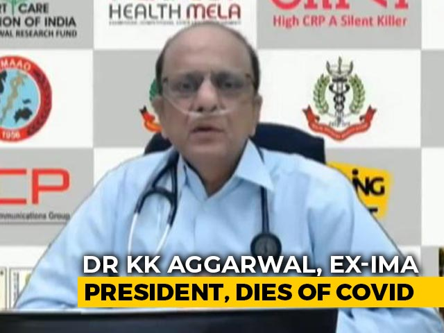 """Video : """"Show Must Go On"""": Doctor Who Died Of Covid Said In One Of His Last Videos"""