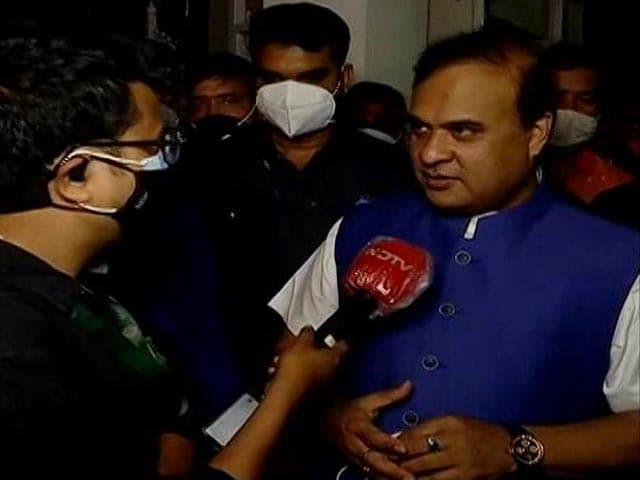 "Video : ""Victory Of Development"": Himanta Biswa Sarma As Trends Indicate BJP Win In Assam"