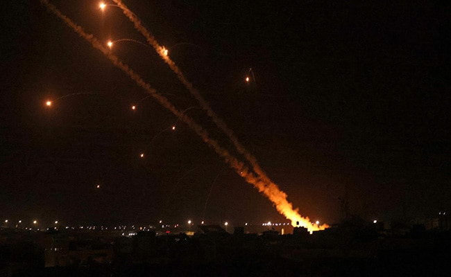 Over 200 Rockets Fired At Israel Palestinian Militant Group