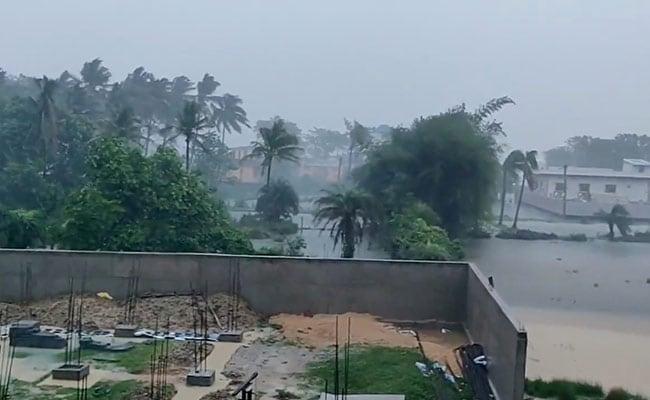 Odisha, West Bengal Experience Rain Due To Cyclone Yaas. See Pics
