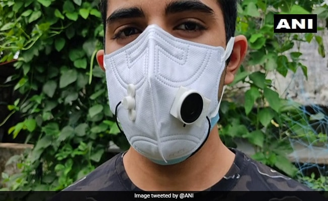Kerala Student Designs ''Masks With Mics'' To Ease Communication Amid Covid-19