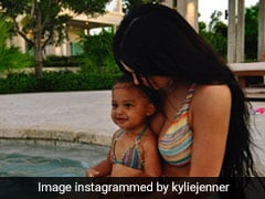 Kylie Jenner And Stormi Webster Make The Cutest Mother-Daughter Duo In Their Matching Bikinis