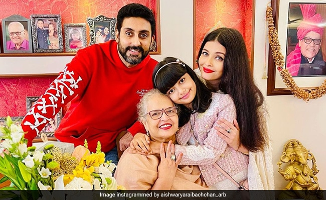 Aishwarya Rai Bachchan Celebrates Mom's 70th Birthday With Four Delish Cakes