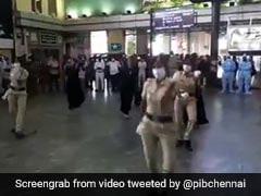 Watch: Chennai Cops Dance To '<i>Enjoy Enjaami</i> ' For Covid Awareness