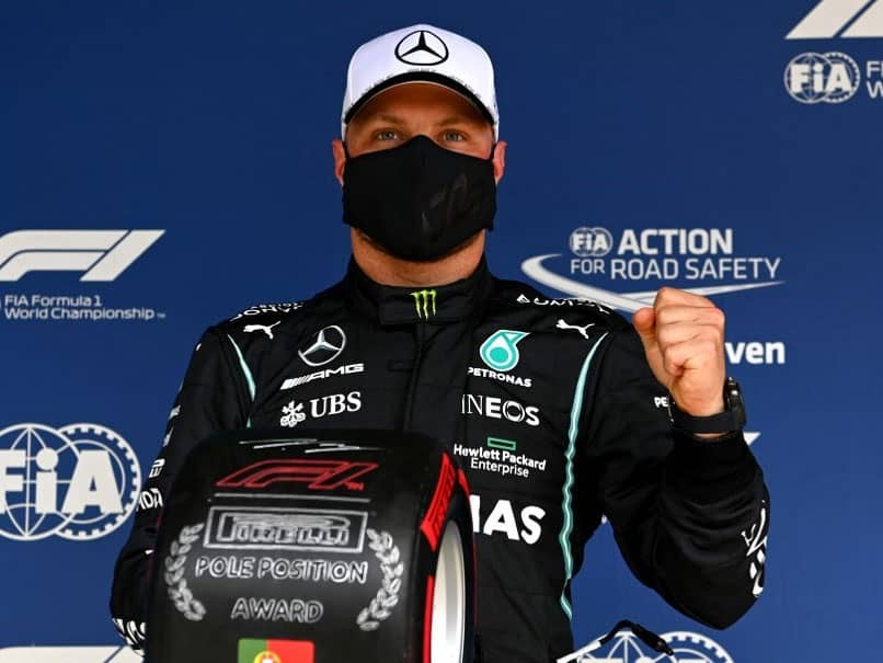 Portuguese Grand Prix: Valtteri Bottas Denies Lewis Hamilton 100th Pole In Portugal