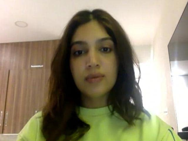 Video : To Fight This War We Need The Intent To Help: Bhumi Pednekar