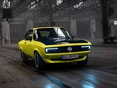 Opel's Manta GSe ElektroMOD Is Every Bit Retro And Futuristic