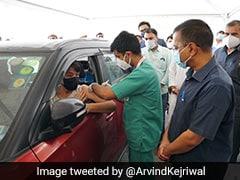 """Unviable"": Delhi's First Drive-Through Vaccine Centre Shuts After Price Cap"