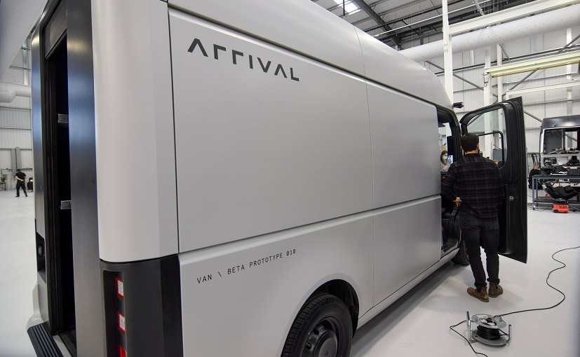 The Arrival Car will go into production in the fourth quarter of 2023