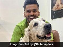 """Shreyas Iyer And His Pet Dog Betty Make The """"Pawfect Jodi"""". See Pics"""