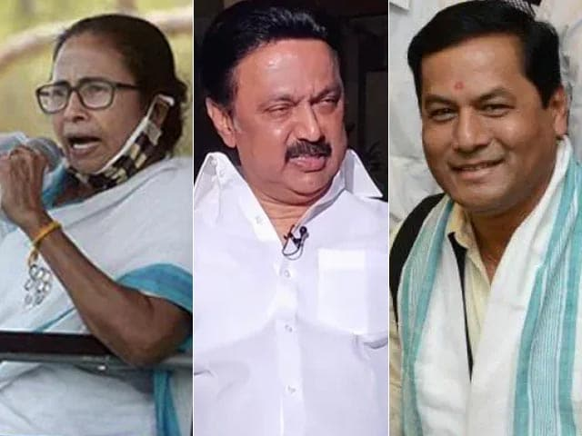 Video : Trinamool, DMK, BJP In Assam Cross Halfway Mark: Early Leads