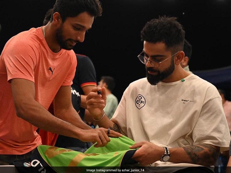 Indian Premier League: RCB's Mohammed Azharuddeen To Get Virat Kohli's Autographed Jersey Framed