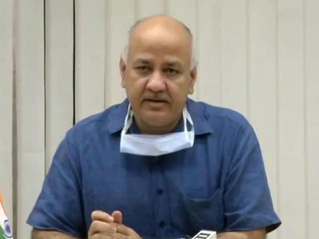 "Video : ""Heinous Crime"" By Center: AAP Leader Manish Sisodia On Vaccine Exports"