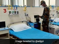 Indian Army Sets Up 100-Bed COVID-19 Facility In Faridabad