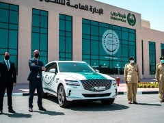 Dubai Police Adds Genesis GV80 Petrol Luxury SUV To Its Fleet