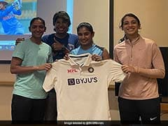India Women's Team Pose With New Test Kit Ahead Of England Tour. See Pics