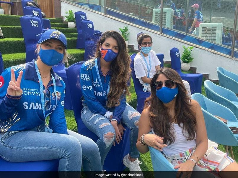 Indian Premier League 2021: Quinton de Kock's Wife Sasha Bids Emotional Farewell To Mumbai Indians Family. See Pics