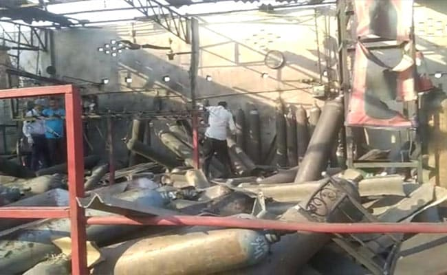 3 Killed, 5 Injured In Blast At Oxygen Refilling Centre In Lucknow