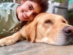 "Sanjana Sanghi's ""Pranayama Mornings"" Begin With Meditation And Dog Therapy"