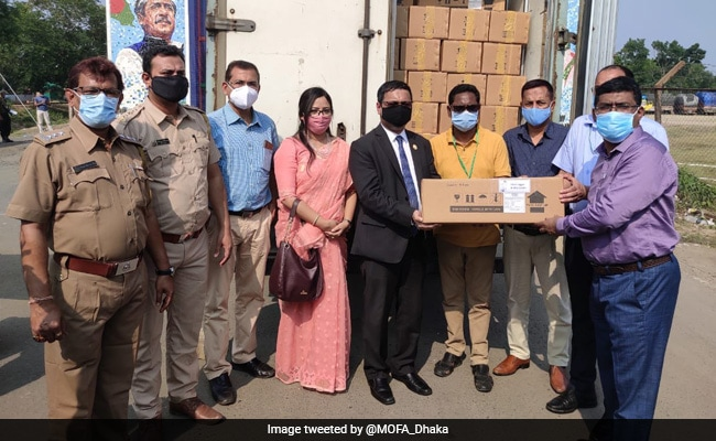 Bangladesh Provides Over 10,000 Remdesivir Vials To India