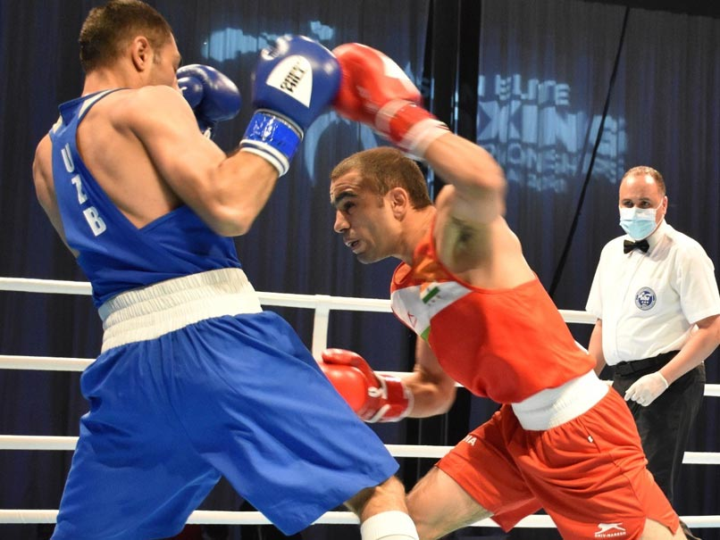 Asian Boxing Championships: Amit Panghal Ends With Silver After Defeat In Intense Final