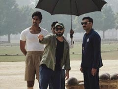 Ajay Devgn's <I>Maidaan</i> Set Reportedly Damaged By Cyclone Tauktae. Viral Video Here