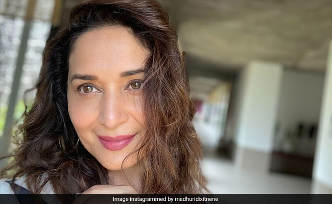 It's A 'Good Hair Day' For Madhuri Dixit. See Her Stunning Pic