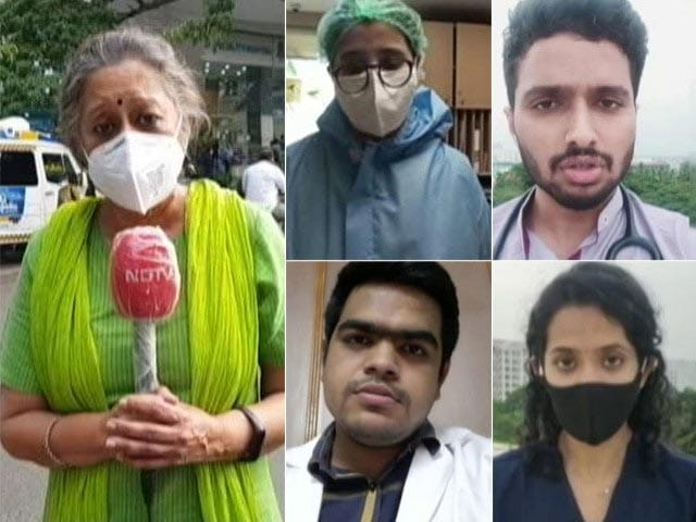 """Video : """"Feeling Helpless"""": Bengaluru Doctors Amid Covid Surge, Lack Of Resources"""