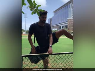 """Watch: Shreyas Iyer Takes """"Lessons"""" From Social Media Influencer Khaby Lame"""