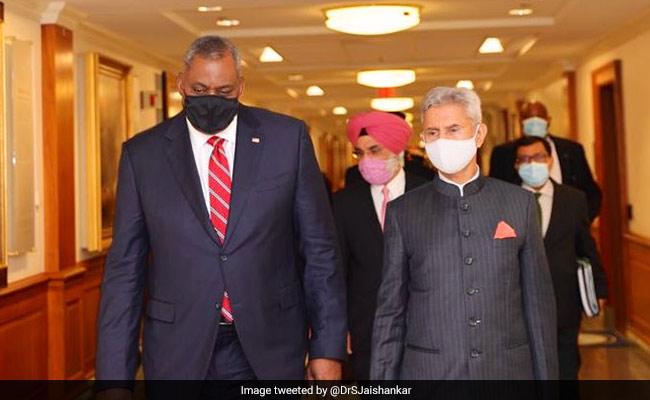 S Jaishankar, US Defence Chief Meet, Discuss India-US Strategic And Defence Partnership