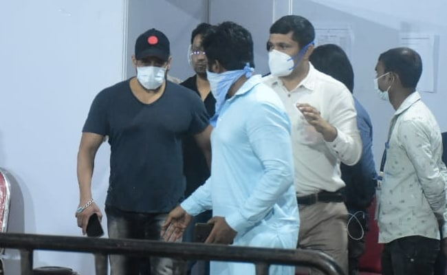 Salman Khan Receives His Second Dose Of COVID-19 Vaccine. See Pics