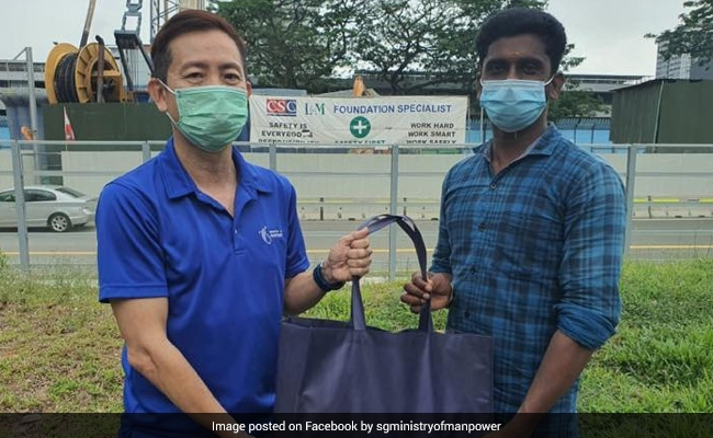 'Going The Extra Mile': Indian In Singapore Praised For Helping Blind Man Cross Road