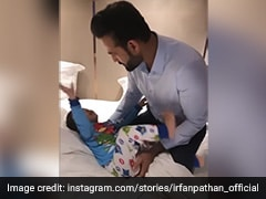 """Different Shades"" Of Imran: Irfan Pathan Shares Adorable Video With Son On Social Media"