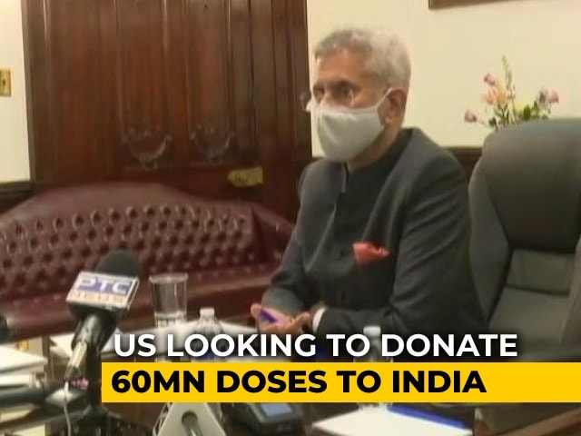 Video : US Looking To Donate 60 Million Doses To India