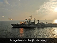 Navy Decommissions INS Rajput After 41 Years Of Service
