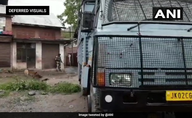 Encounter Breaks Out At Anantnag In Jammu And Kashmir