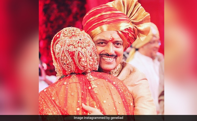Genelia D'Souza Hears About Late Father-In-Law Vilasrao Deshmukh 'Every Day From Strangers'