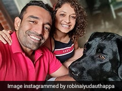 "Robin Uthappa Reunites With His ""Other Munchkin"" After IPL 2021 Suspension"