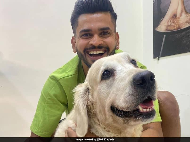 Shreyas Iyer And His Pet Dog Betty Make The
